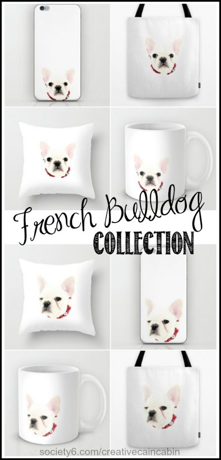 French Bulldog Collection | CretiveCainCabin.com