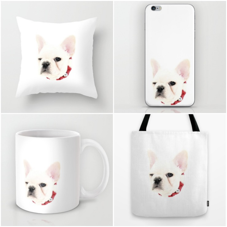 The Winking French Bulldog Collection | Creativecaincabin.com