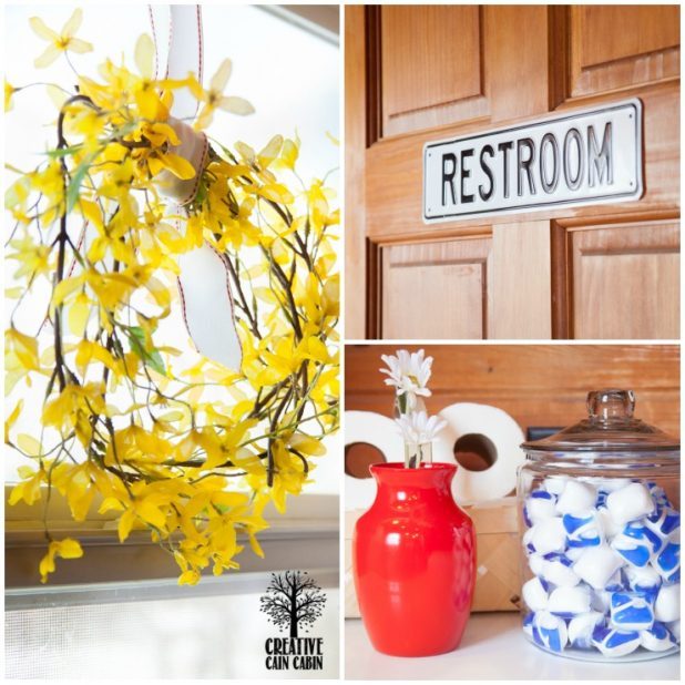 $20 Bathroom Update   Shop Your Home For A New Look   CreativeCainCabin.com
