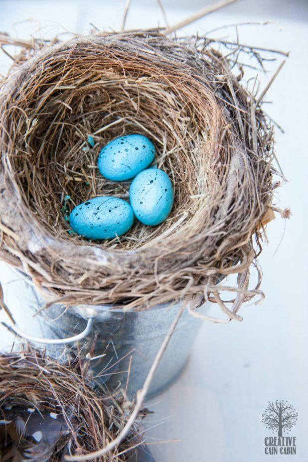 How to Make Faux Bird Eggs | DIY Recipe | CreativeCainCaibin.com