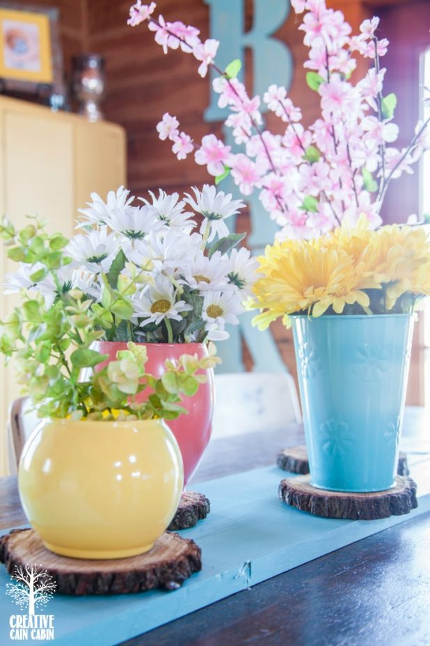Spring Flower Arrangement | CreativeCainCabin.com