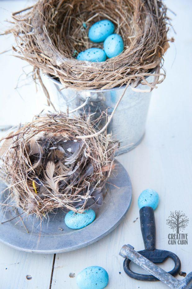 How to Make Faux Bird Eggs   DIY Recipe   CreativeCainCaibin.com