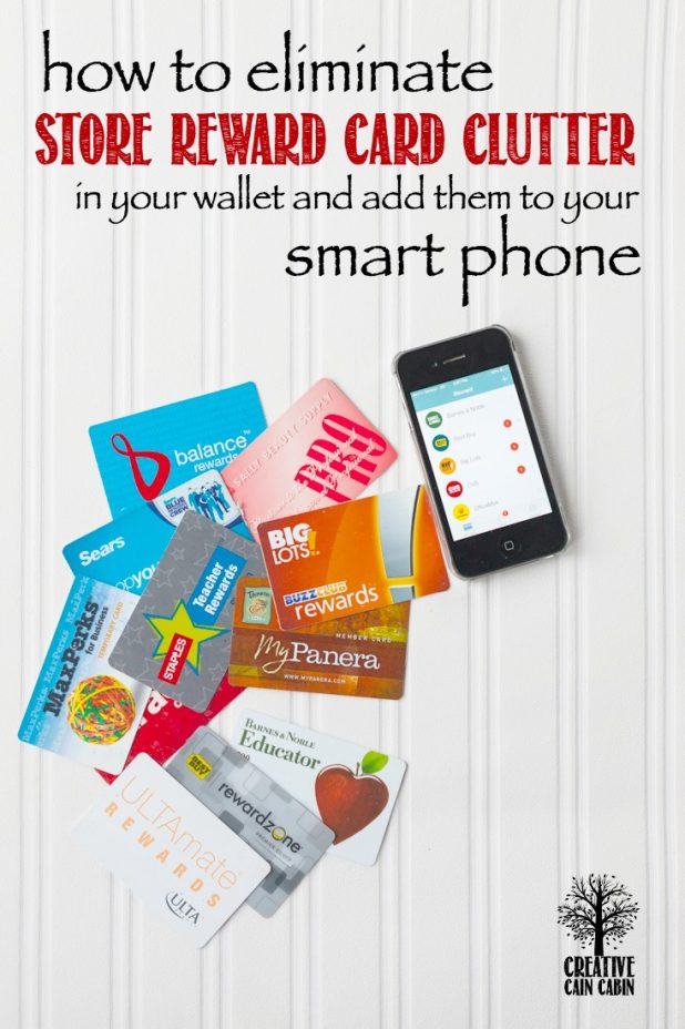 Is Your Wallet Cluttered with Dozens of Store Rewards Cards | If So Why Not Store Them on Your Smartphone | Complete How To Instructions | CreativeCainCabin.com