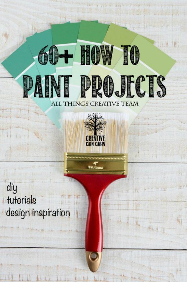 Paint Project Ideas   Spray Paint   Chalk Paint   Reclaim Paint   DIY   Inspiration   CreativeCainCabin.com