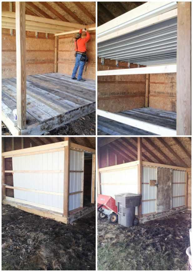 Chicken Coop Build Using Salvaged Material | CreativeCainCabin.com