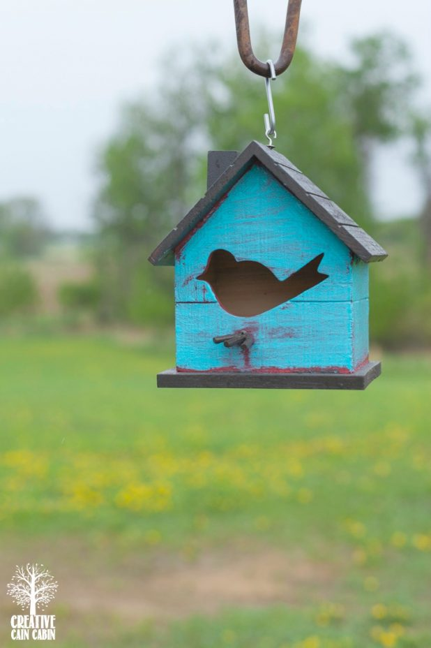 Birdhouse | CreatuveCainCabin.com