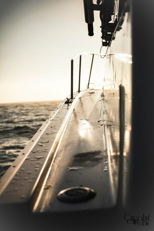 Boat at Sunrise   CreativeCainCabin.com