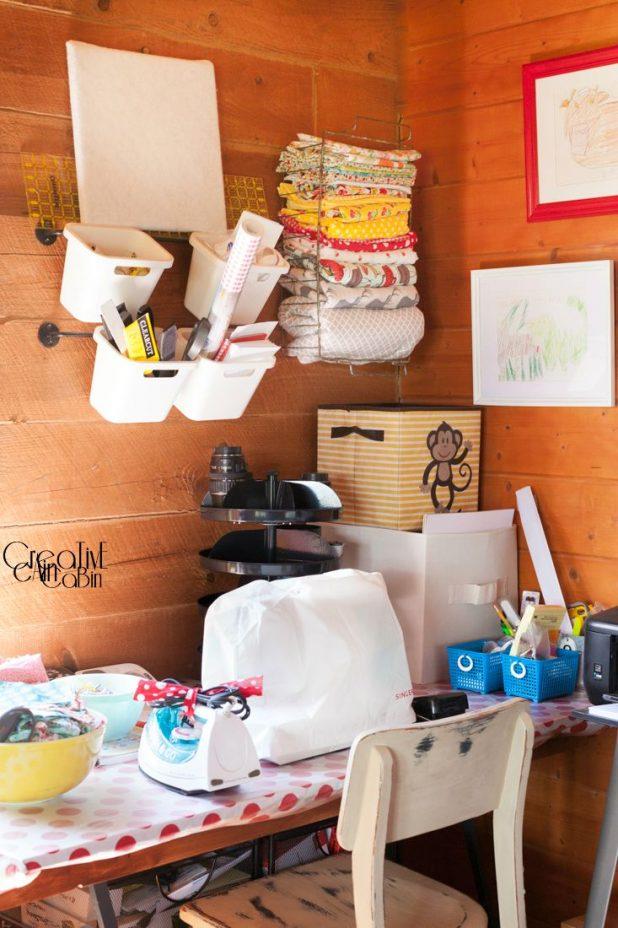 Craft/Office Space | CreativeCainCabin.com