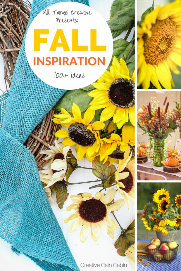 Fall Inspiration | Fall Crafts | Fall Recipes | Fall Decor | Over 100+ Ideas | CreativeCainCabin.com