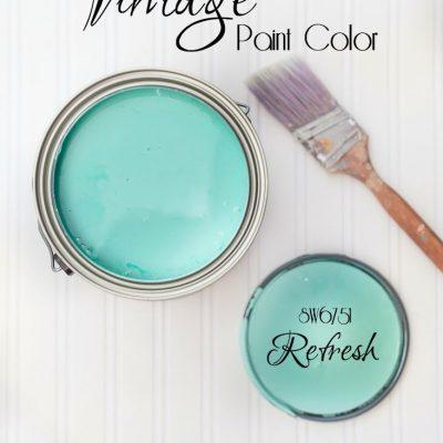 The Perfect Vintage Paint Color