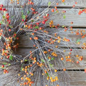How To Make A Weeping Cherry Branches Wreath