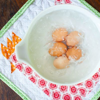 How to Hard Boil Fresh Eggs & Have them Peel Every Time