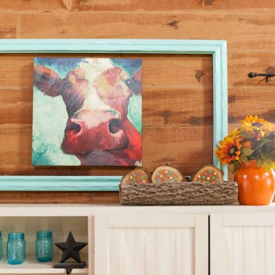 Upcycle Painted Frame