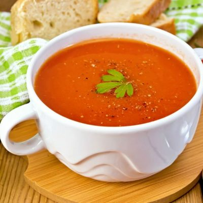 Simple Homemade Creamy Tomato Soup