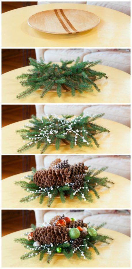 How to Layer a Christmas Tray with Step by Step Photo Tutorial