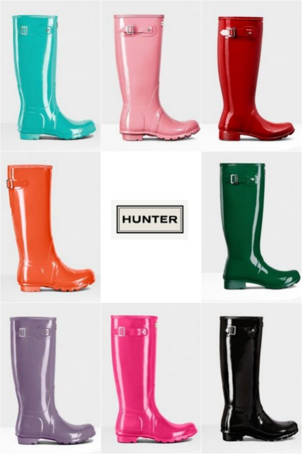 Hunter Boot Colors