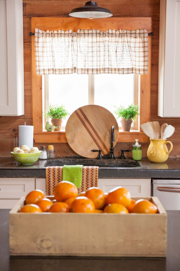 Styled Kitchen Window