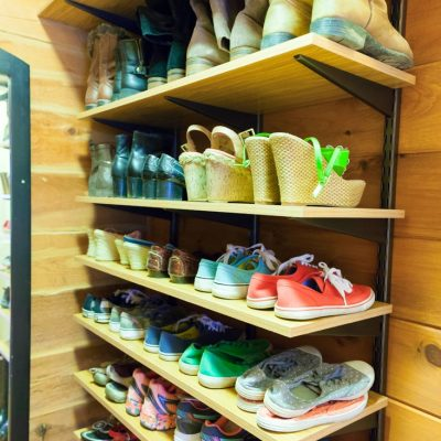 Organized Shoe Room