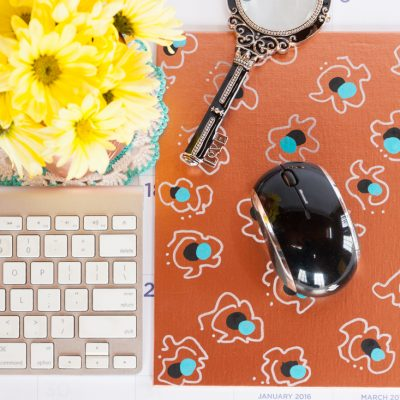 DIY Custom Copper Mouse Pad