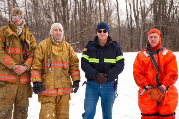 Firefighter Water & Ice Rescue Training