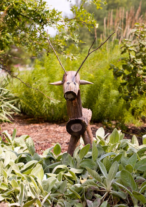 Stick Animal in the Garden