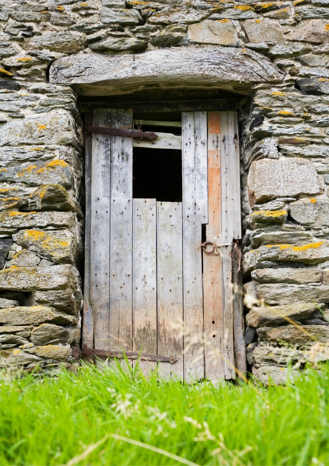 Old Rustic Door