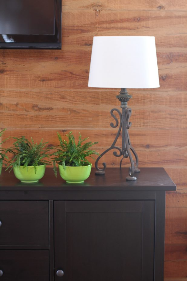 Copper Lamp and Shade Makeover   Step by Step DIY Tutorial