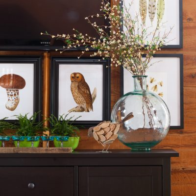 How to Decorate Around a TV