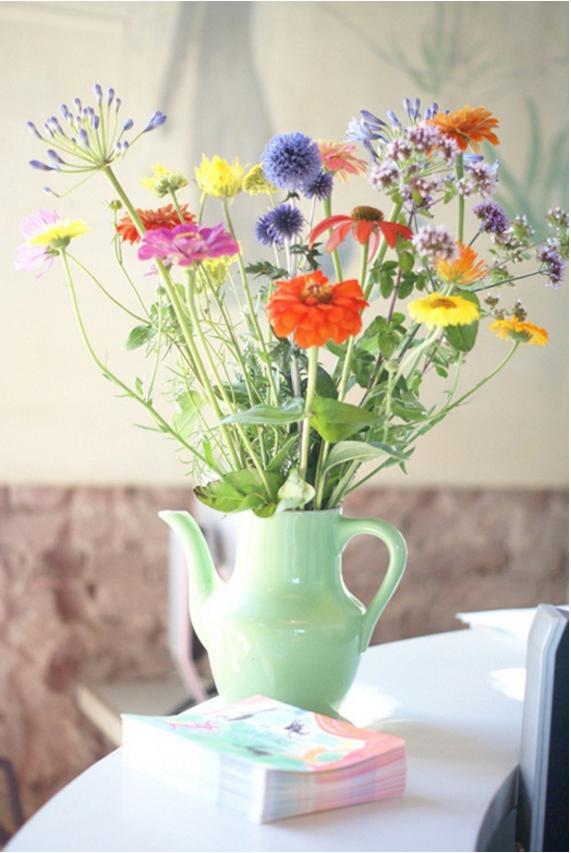 Cut Garden Flower Arrangement