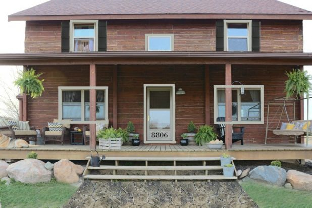 Adding Trim and Shutters to an Existing Log Home