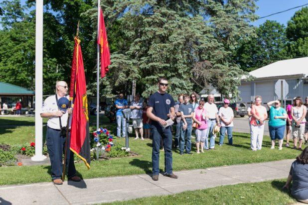 Reading the Firefighter's Prayer