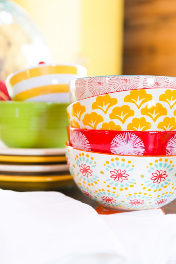 Colorful Dishes | Pioneer Woman