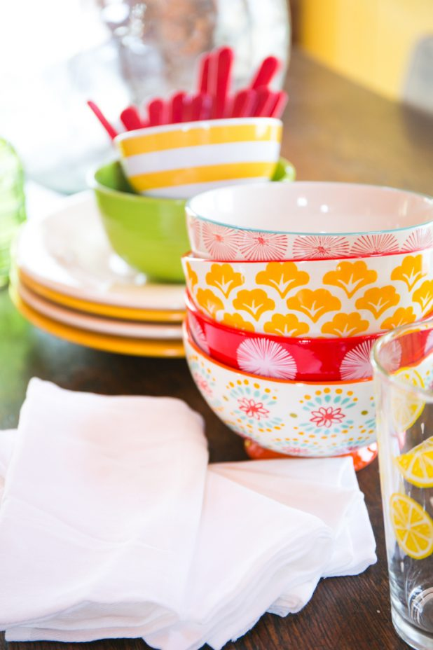 Colorful Dishes   Pioneer Woman