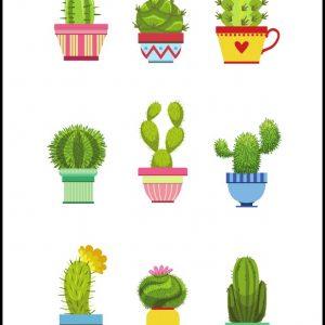 Cactus Free Printable
