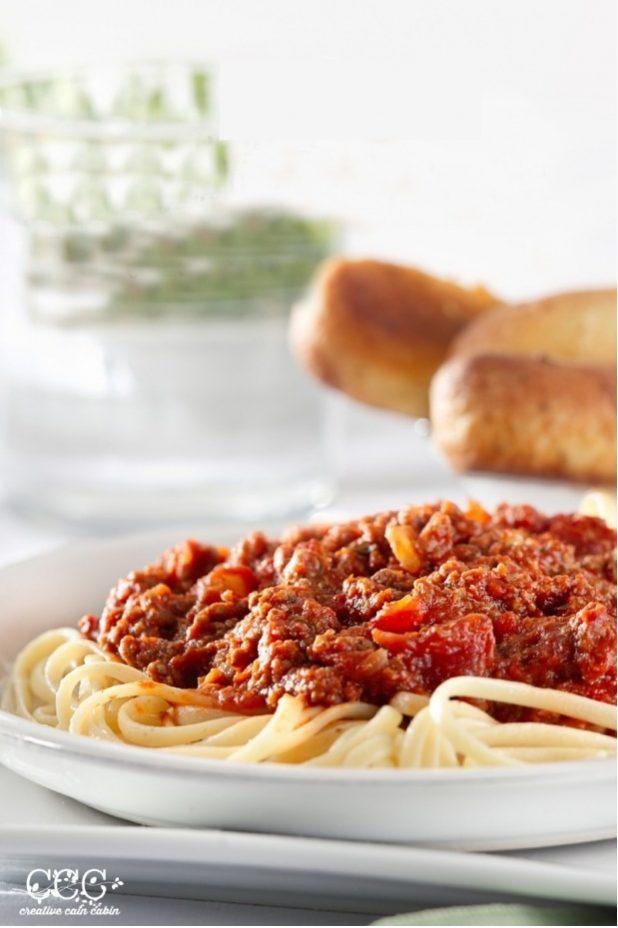 Easy Spaghetti Sauce Recipe