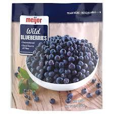 Frozen Unsweetened Blueberries