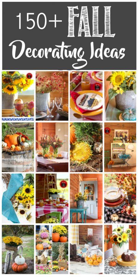 150+ Fall Decorating Ideas