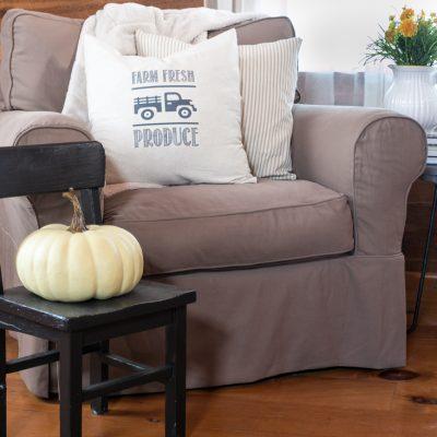 DIY Farmhouse Pillow Transfer