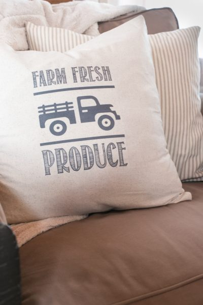 DIY Farmhouse Pillow Transfer Download and Tutorial Included