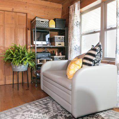Gender Neutral Guest Room & Home Office Makeover {$100 Visa Gift Card Giveaway}