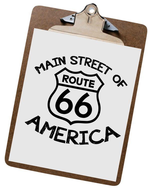 Route 66 Farmhouse Pillow Transfer