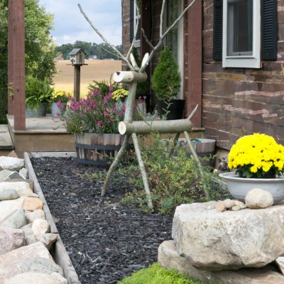 How To Put A Birdhouse Post In The Ground Without Post Hole Diggers