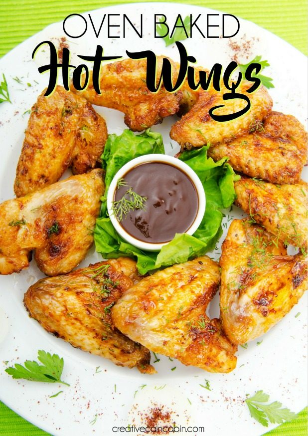 Oven Baked Hot Wings, Easy To Make and Only Require Two Ingredients