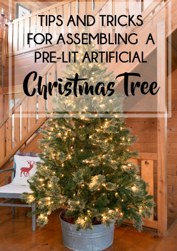 How To Assemble An Artificial Christmas Tree, Learn From My Mistakes and See How I Make It Easy And Time Saving
