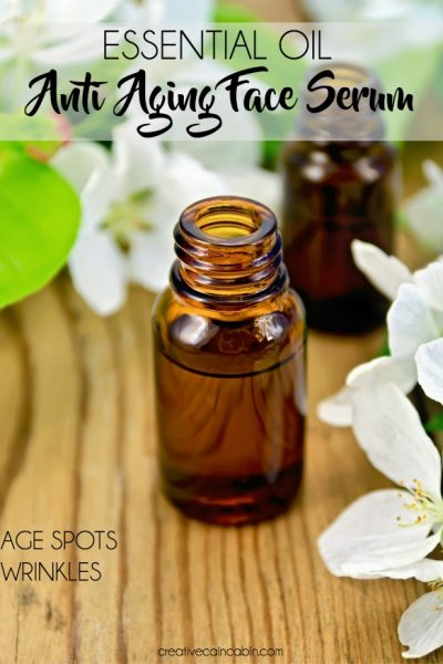 Essential Oil Ante-Aging Serum For Age Spots and Wrinkles