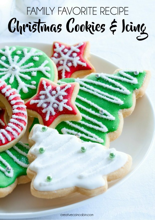 Roll Out Cookie Dough and Icing Recipe Great For Christmas
