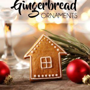 Cinnamon Gingerbread Ornaments