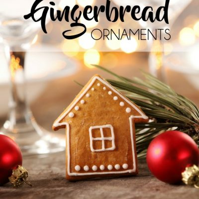 Cinnamon Gingerbread Ornaments