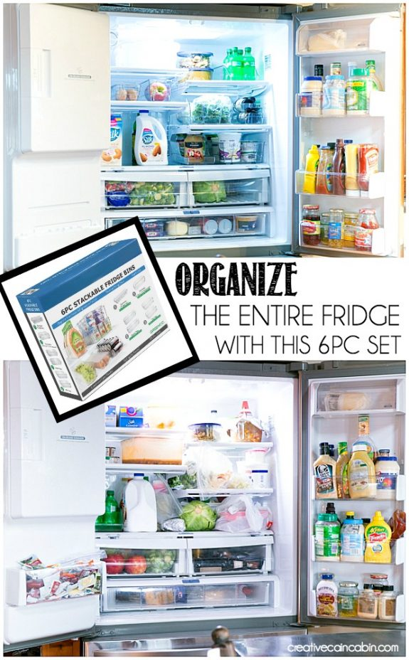 How to Organize a Refrigerator and Keep It That Way With One 6pc Set