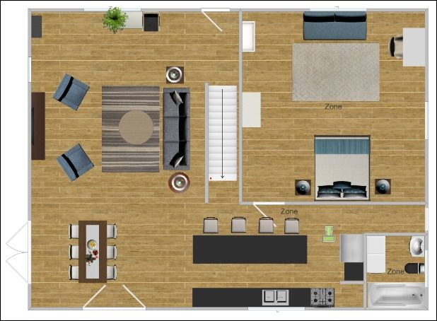 DIY Online Furniture Arrangement Using This Free Program. It's An Easy Drag and Drop System, You Can Create an Entire Floor Plan